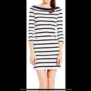 Kate Spade Havana striped boatneck dress